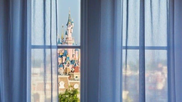 Uitzicht Disneyland Hotel