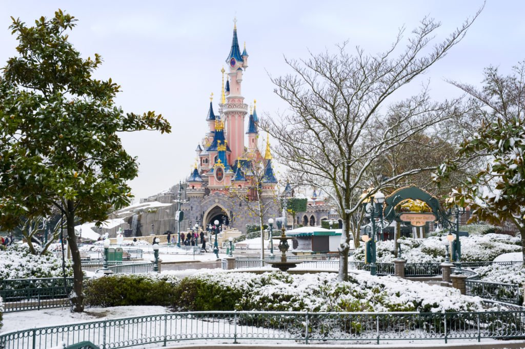 Kerst in Disneyland Paris