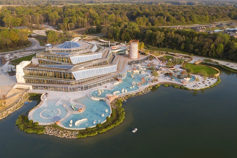 Aquapark bij Disneyland Paris