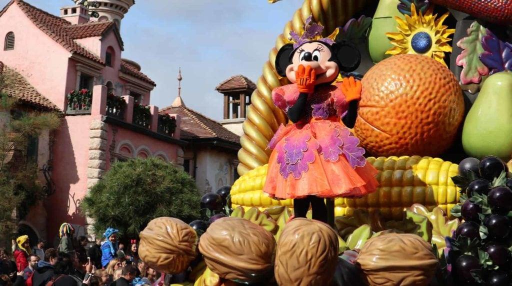 Disneyland Paris parades en shows