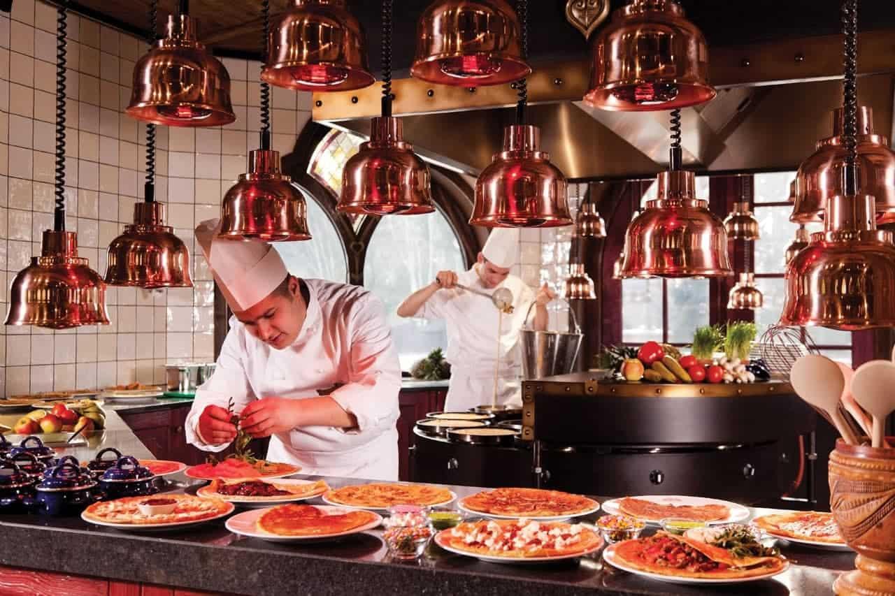 Restaurants in de Efteling - Polles keuken