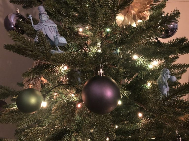 Mijn Disney Kerstboom met Haunted Mansion thema